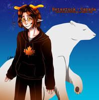 Hetastuck - Canada by limecakey