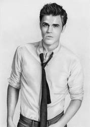 Paul Wesley by Sorbetti