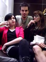 Jane, Trent and Daria. by KateThulhu