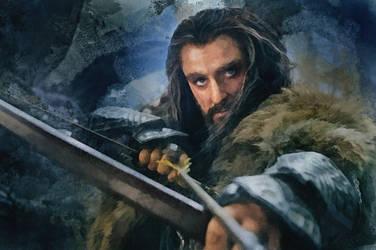 Thorin Oakenshield by olga51275