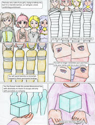 Trapped in the Cube Page 1 by TraceMem