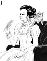 Lady Meserole by rubendevela