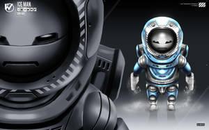 Robot Masters: Ice Man by rubendevela