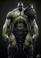 Emperor Hulk by kassarts
