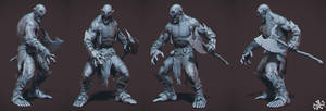 Ogre Sculpt by kassarts