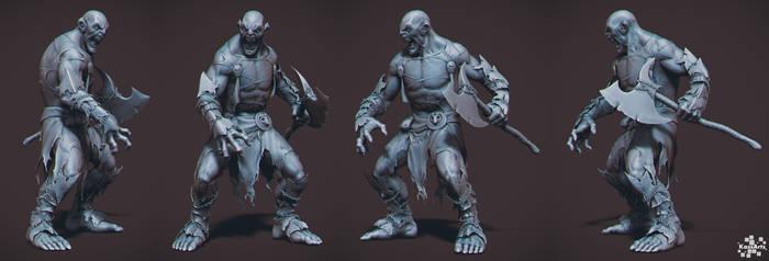Ogre Sculpt by kassarts