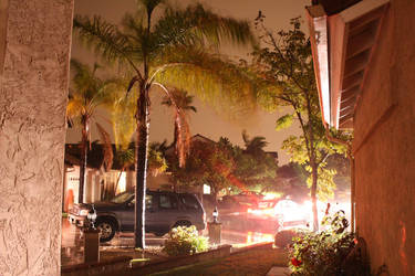 Evening Rain in San Diego by bryceguy72