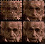 Penny Pixels: Einstein by bryceguy72