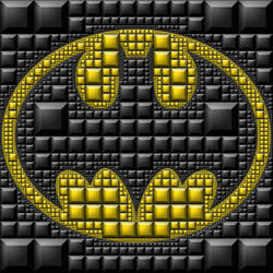 BatMan subdivided by powers of 2 by bryceguy72