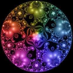 Circle Limit, Julia's Color Wheel by bryceguy72