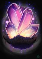 Quantum Crystals by aldersonillustration