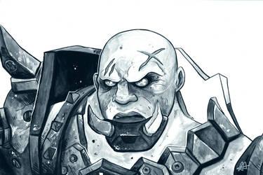 Blackhand Doomfist by aldersonillustration