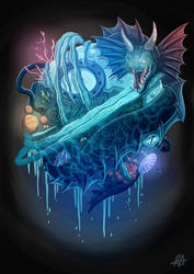 Leviathan Time Machine by aldersonillustration