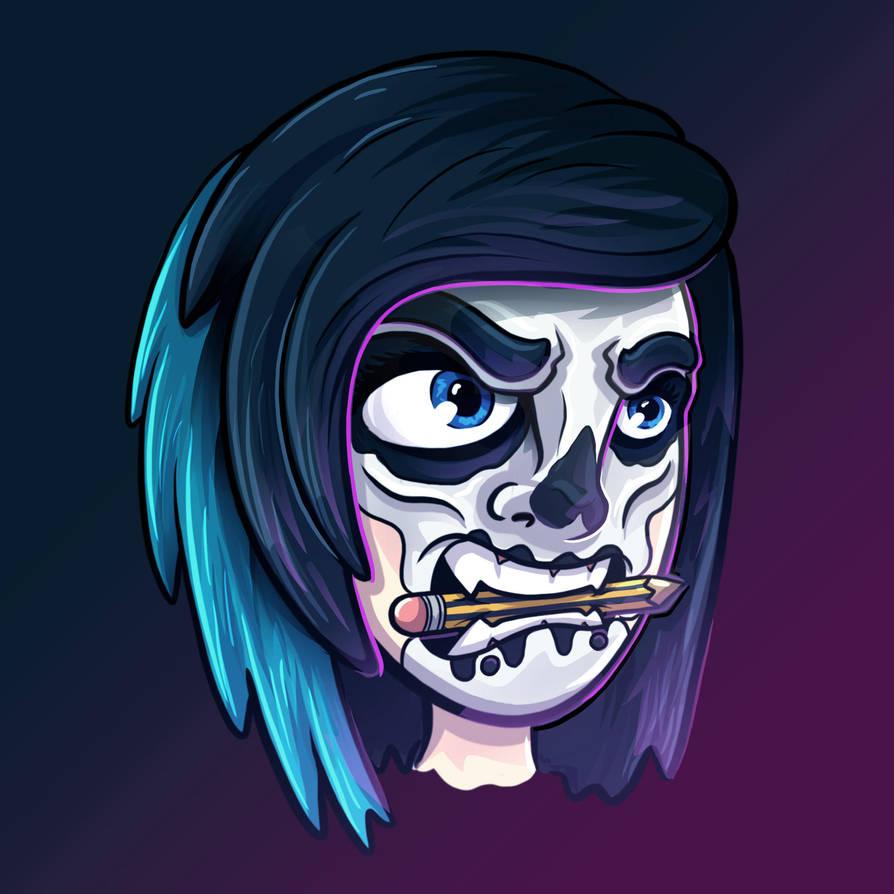 Halloween Avatar by aldersonillustration