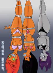 Teen Titan Tie Up by Inspector97