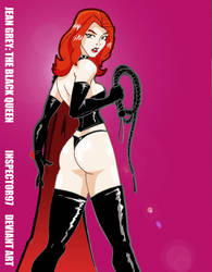 Jean Grey: The Black Queen by Inspector97