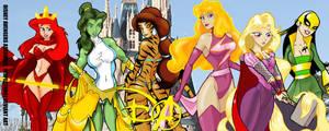 Disney Avengers Assemble by Inspector97