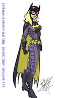 Stephanie Brown Batgirl by Inspector97