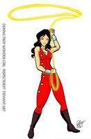 Donna Troy Wonder Girl by Inspector97