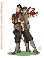 The Fabulous Fire Ferrets by Inspector97