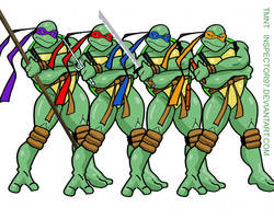 TMNT by Inspector97