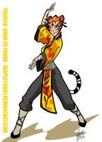 Tigress : Kung Fu Panda by Inspector97