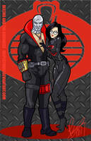 Destro and The Baroness by Inspector97