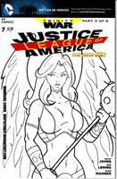 Justice League Cover by Inspector97
