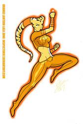 Orange Lantern Lala Juno by Inspector97