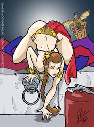 Slave Leia Outrage by Inspector97