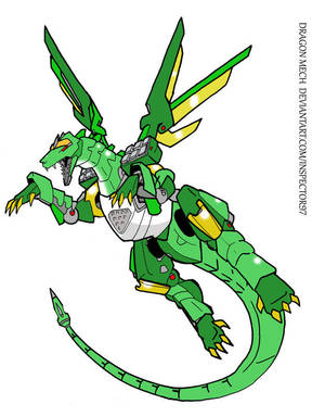 Dragon Mech by Inspector97