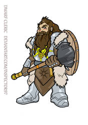 Hummund the Dwarf Cleric by Inspector97