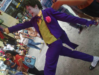 Joker: Gooffy Walk by milenyo
