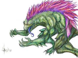Godzilla New Haircut by MenteEterea