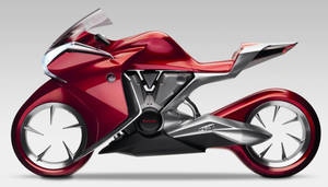 Honda V4 Concept Bike by TheCarloos