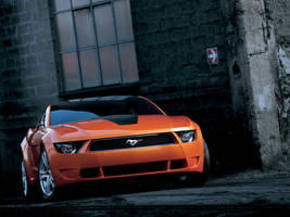 Ford Mustang Giugiaro Concept by TheCarloos