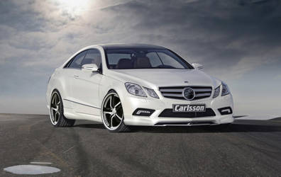 2010 Mercedes-Benz E 500 Coupe by TheCarloos
