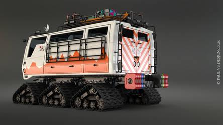 Exploration Vehicle Concept by PaulV3Design
