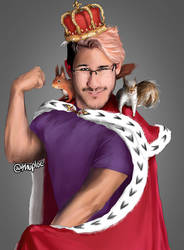Markiplier - 'King of the Squirrels' by Shuploc