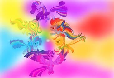 Rainbows Powers by TWAILAT