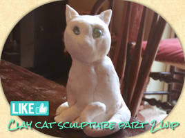 Clay cat part 2 by CatEyes-To-CatTails