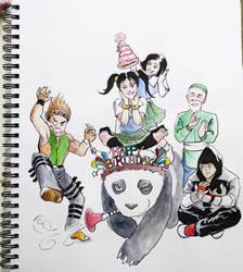 Happy Birthday Xiaoyu by aellise
