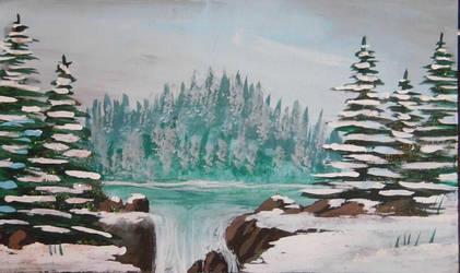 Snow Falls by GraceJediHeart