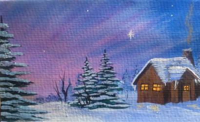 Christmas Eve by GraceJediHeart