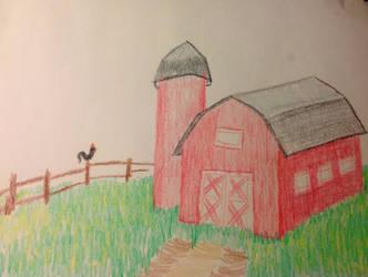 Just a Barn by GraceJediHeart