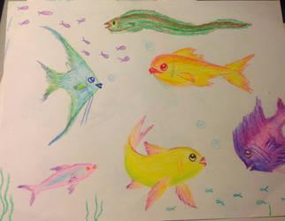 Fishy Doodle by GraceJediHeart