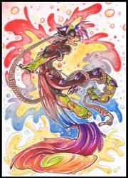 RAINBOW EYE-FUDGE by carnival