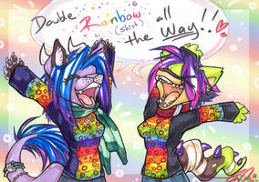 DOUBLE SHIRT-BOW by carnival