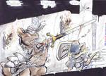 COM: 'Heather Fighting Weasel' keyword sketchbook by carnival