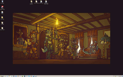 April 2015 Desktop: Exploring Darklocke Manor by carnival